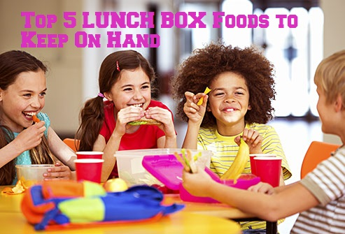 lunch box foods