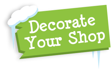 Decorate Your Holiday Shop for Elementary