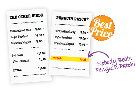Best Price Nobody Beats Penguin Patch's Pricing