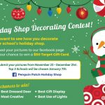 Holiday Shop Decoration Contest