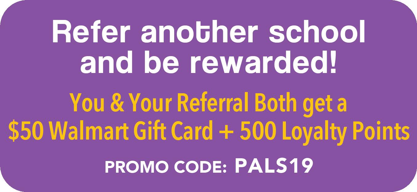 Refer another school reward